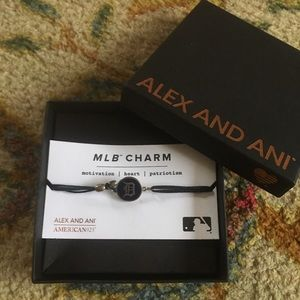 Alex & Ani Detroit Tiger D bracelet New